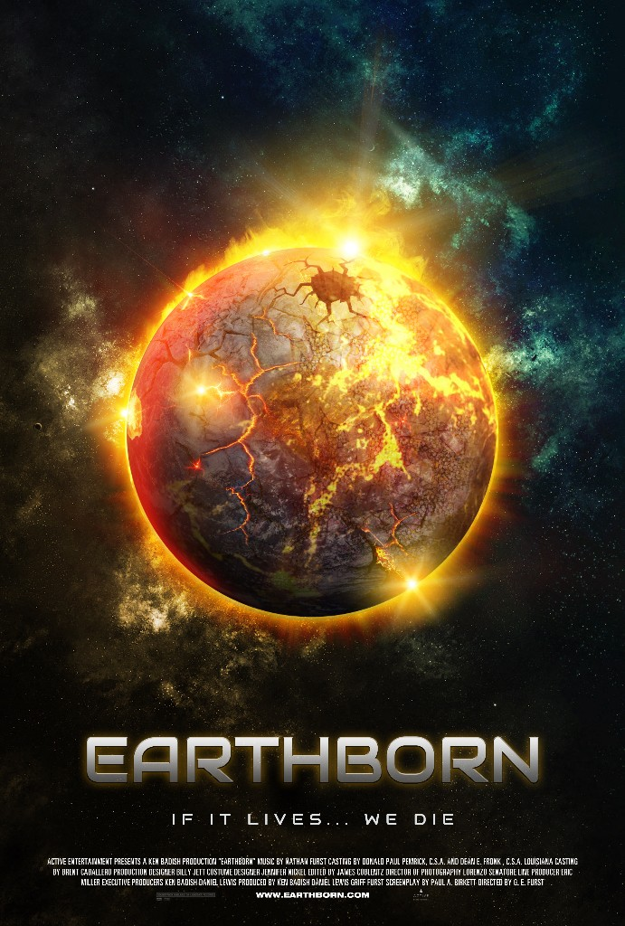 earth born movie poster design graphic entertainment indie film