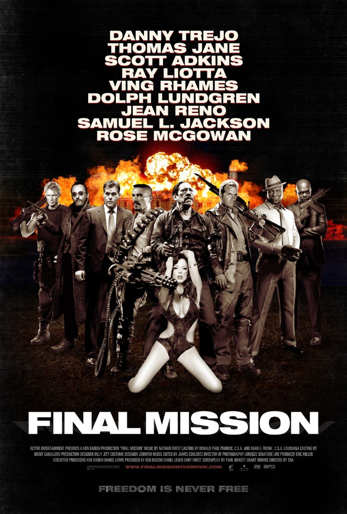 Final Mission movie poster design graphic entertainment indie film