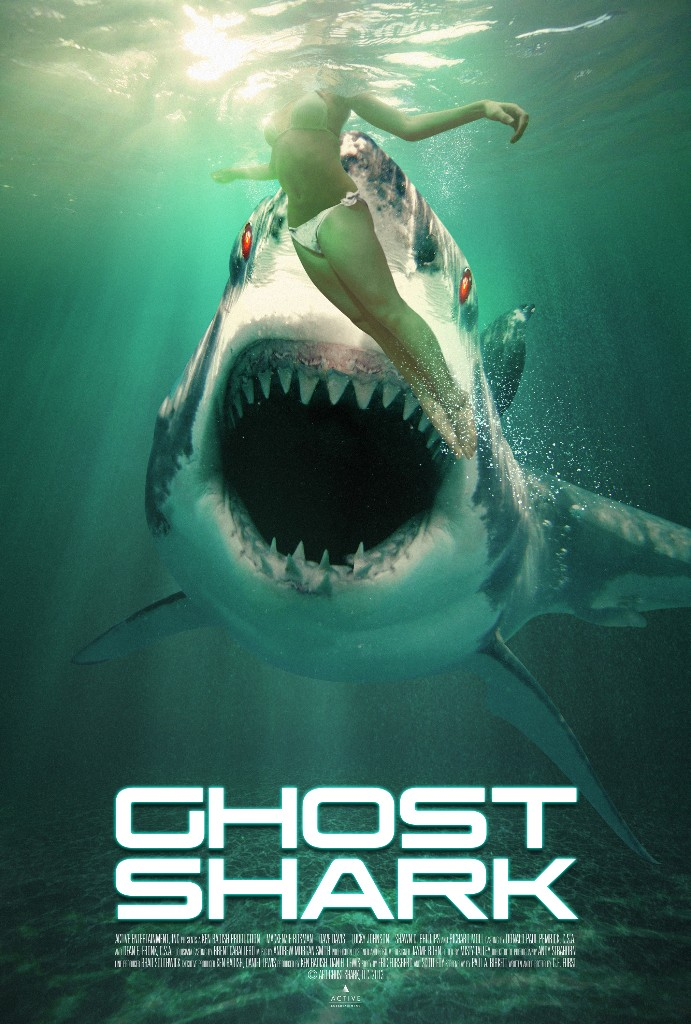 Ghost Shark Movie Poster entertainment graphic design artist