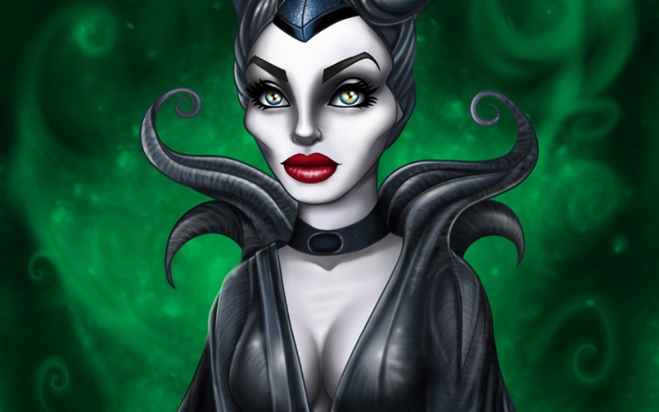 Maleficent Disney fanart drawing art