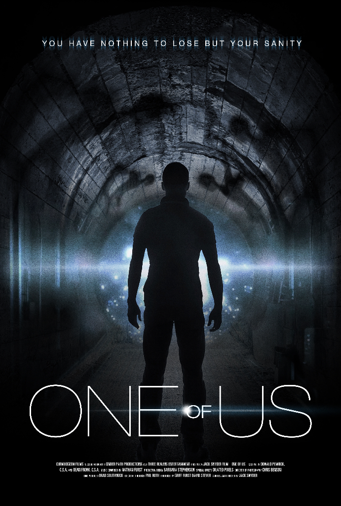 One of Us Movie Poster entertainment graphic design artist