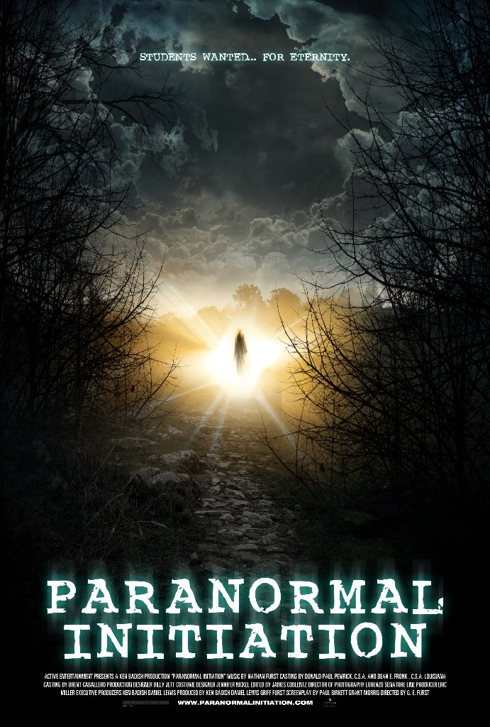 Paranormal Initiation Poster entertainment graphic design artist