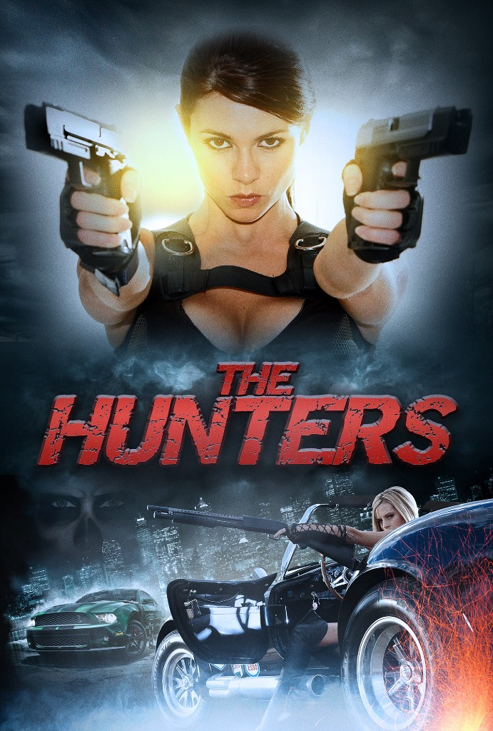 The Hunters Movie Poster entertainment graphic design artist