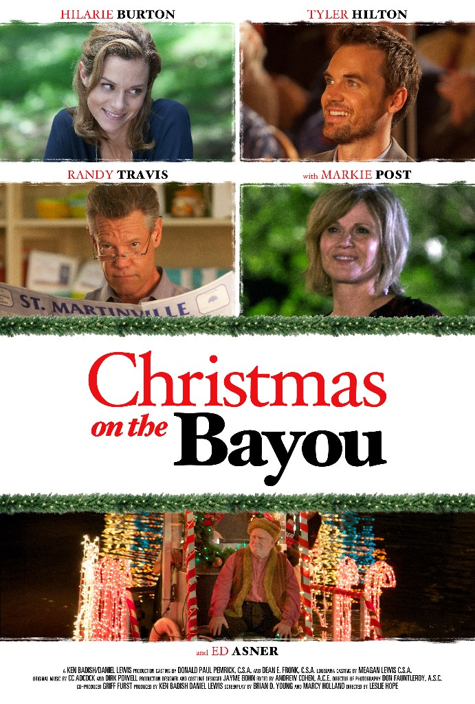 christmas on the bayou movie poster design graphic entertainment indie film